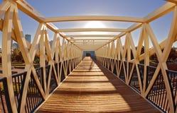 Brücke in den Sun stockbilder