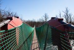Brücke der Aufhebung-Bridge stockfotos