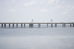Brücke der beweglichen Bucht Lizenzfreie Stockbilder