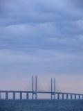 Brücke in der Farbe Stockfotografie