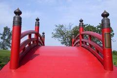 Brücke der japanischen Art Stockfotos
