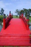 Brücke der japanischen Art Lizenzfreies Stockbild