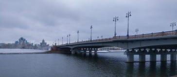 Brücke in der Landschaft Lizenzfreie Stockfotografie