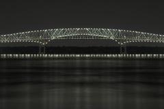 Brücke der Leuchten stockfoto