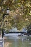 Brücke der Liebe Stockbilder