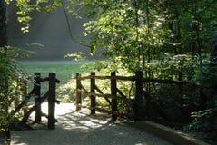 Brücke der Morgenleuchte zu Fuß Lizenzfreie Stockfotos
