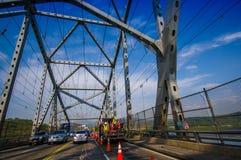 Brücke des Amerikas über dem Panamakanal Lizenzfreie Stockfotografie