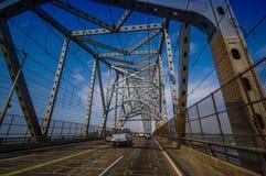 Brücke des Amerikas über dem Panamakanal Stockbilder