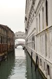 Brücke des Anblicks in Venedig Stockfotografie
