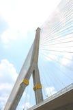 Brücke des Fluss-Rama8 in Thailand, Bangkok Rama VIII Brücke, Thailand Stockfotografie