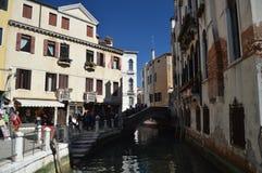 Brücke des Flusses Tera De La Maddalena In Venice lizenzfreie stockfotografie