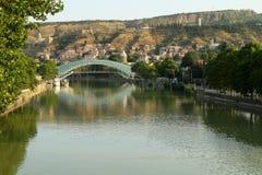 Brücke des Friedens in Tbilisi, Georgia Lizenzfreie Stockfotografie