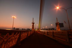 Brücke des König-Rama 8 stockfotos