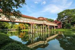 Brücke des Palastes in Thailand Lizenzfreies Stockbild