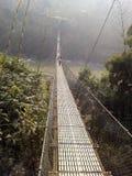 Brücke Dhading Tresuli Lizenzfreies Stockbild