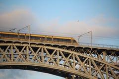 Brücke Dom LuÃs I, Porto, Portugal Stockfoto