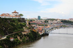 Brücke Dom LuÃs I, Porto, Portugal Lizenzfreies Stockbild