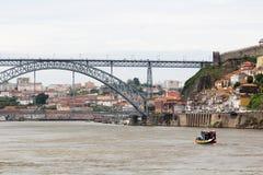 Brücke Dom LuÃs I, Porto, Portugal Lizenzfreie Stockbilder