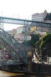 Brücke Dom LuÃs I, Porto, Portugal Lizenzfreie Stockfotografie
