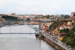 Brücke Dom LuÃs I, Porto, Portugal Lizenzfreies Stockfoto