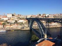 Brücke Dom-Luis Stockbild