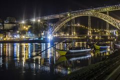 Brücke Dom-Luis Stockbilder