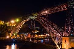 Brücke Dom-Luis I Stockfotos