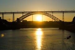 Brücke Dom-Luis I Stockbilder
