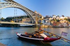 Brücke Dom-Luis I Lizenzfreies Stockbild