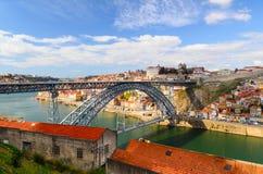 Brücke Dom Luis I Lizenzfreies Stockbild