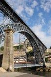 Brücke Dom-Luis I in Oporto Lizenzfreies Stockfoto