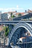Brücke Dom-Luis I in Porto Lizenzfreie Stockfotografie