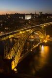 Brücke Dom-Luis I, Porto Lizenzfreies Stockbild