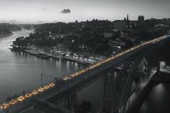 Brücke Dom-Luis I, Porto Stockfotografie
