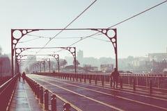 Brücke Dom-Luis I, Porto, Portugal Stockfotografie