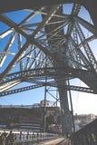 Brücke Dom-Luis I, Porto, Portugal Lizenzfreies Stockbild