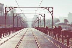 Brücke Dom-Luis I, Porto, Portugal Lizenzfreie Stockfotografie