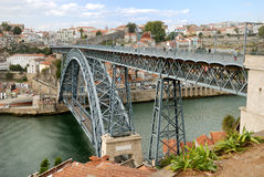 Brücke Dom-Luis (Porto) Stockbild