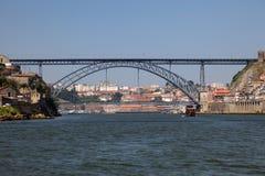 Brücke Dom-Luis in Porto Stockfotografie