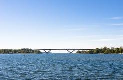 Brücke durch den Horizont Stockfotografie
