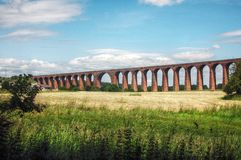 Brücke für Züge Stockfotografie