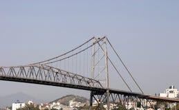 Brücke in Floripa Lizenzfreies Stockfoto