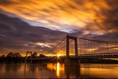 Brücke in Frankreich lizenzfreie stockfotografie