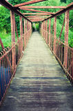 Brücke gesehen vom Innere Lizenzfreie Stockfotografie