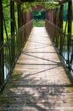 Brücke gesehen vom Innere Stockbild