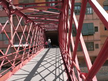 Brücke Girona lizenzfreies stockbild