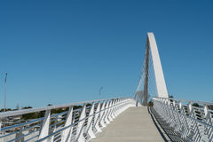 Brücke an Hendon-Park Stockbild