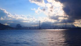 Brücke in Hong Kong Stockfoto