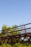 Brücke im Grün Lizenzfreie Stockbilder