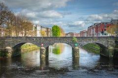 Brücke im Limerick Stockfotografie